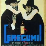 Cartel antiguo de publicidad Ceregumil