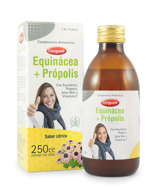 CEREGUMIL-EQUINACEA-PROPOLIS_GAMA-DEFENSAS_Jarabe-250mL