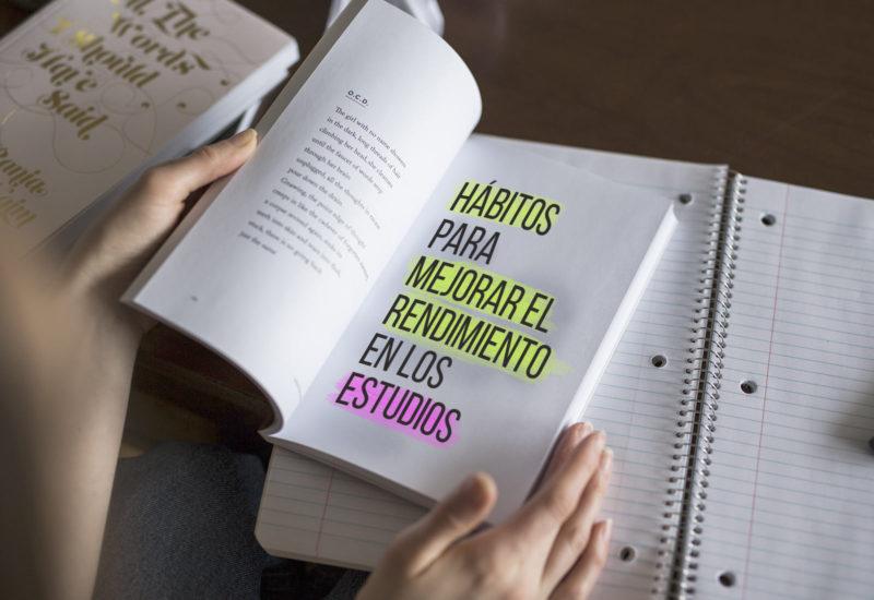 Hábitos para mejorar el rendimiento en los estudios