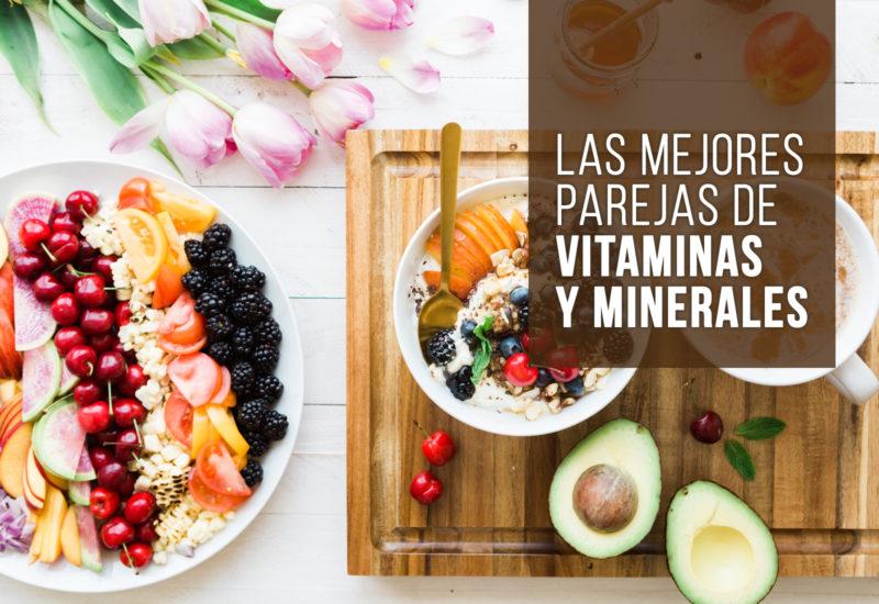 Las mejores parejas de vitaminas y minerales