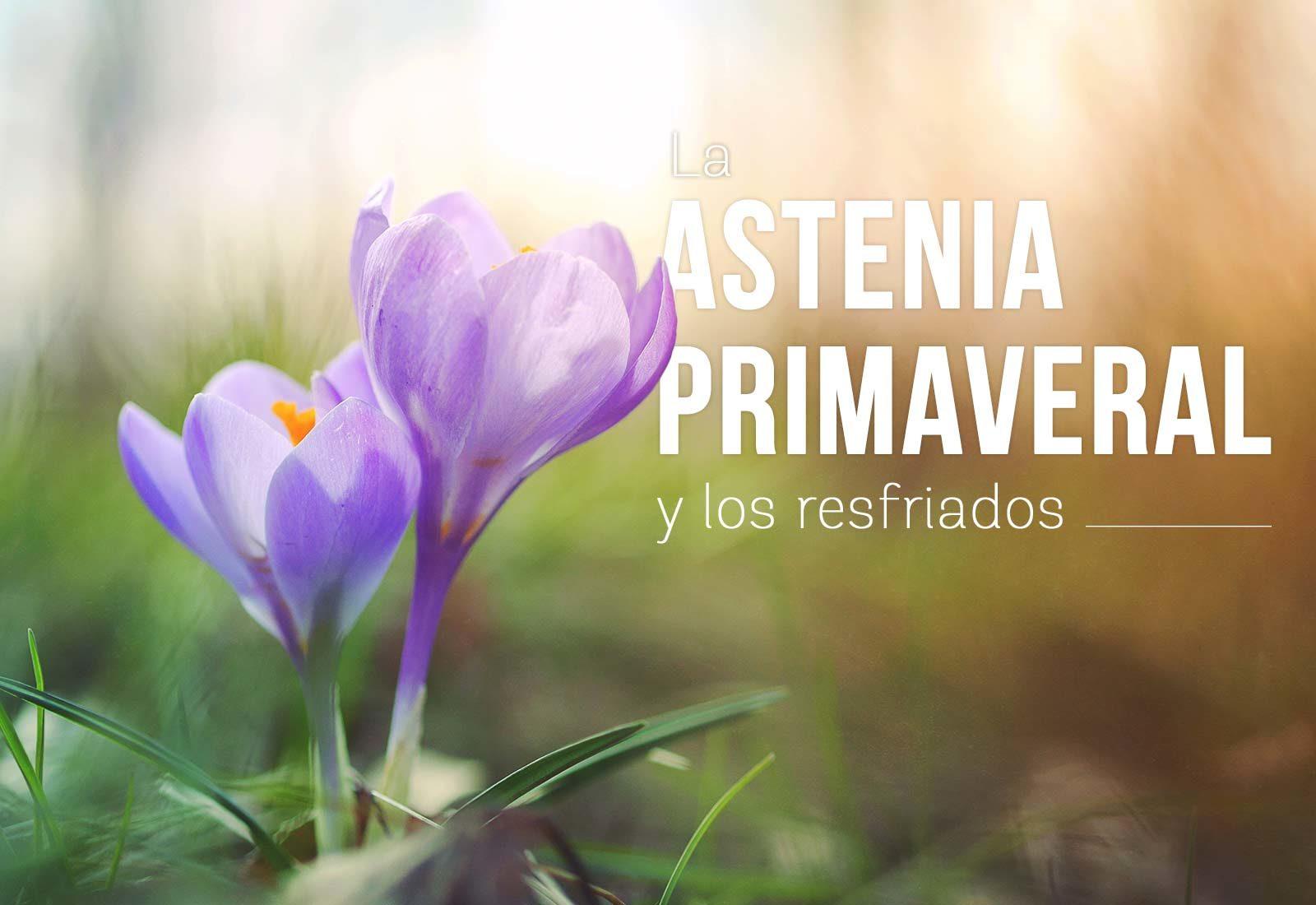 astenia primaveral