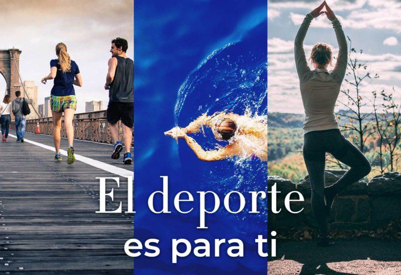 El deporte es para ti